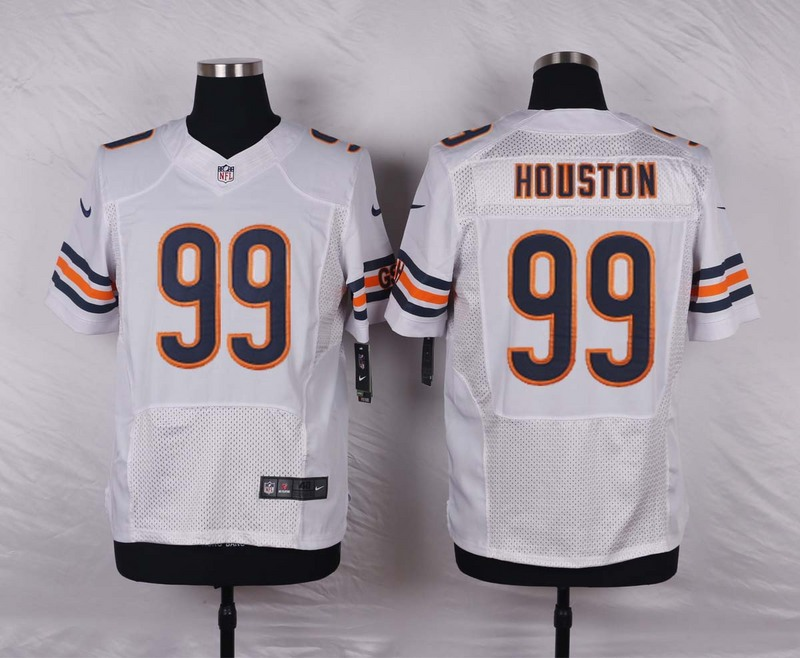 NFL Customize Chicago Bears 99 Houston White 2015 Nike elite jerseys