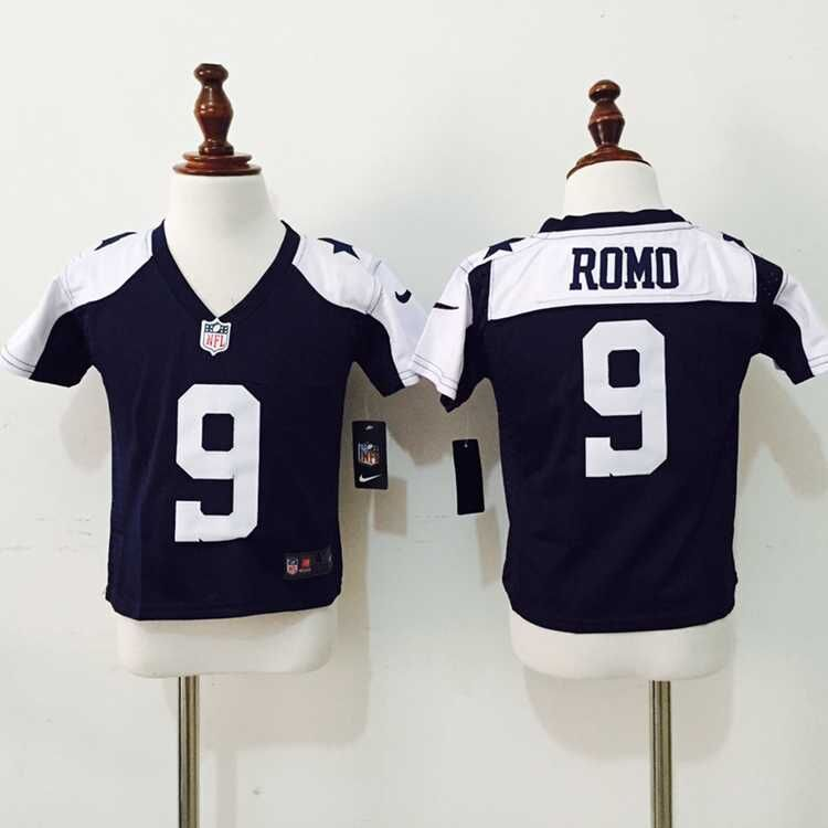 Dallas Cowboys 9 Romo Blue Thankgivings Nike baby Jersey