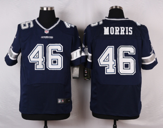Dallas Cowboys 46 Morris Blue 2016 Nike Elite Jerseys