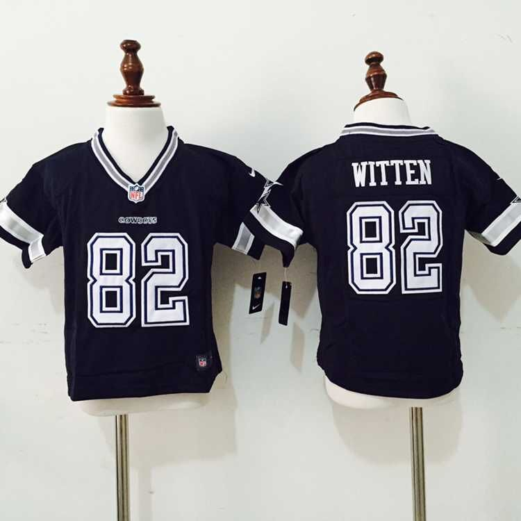 Dallas Cowboys 82 Witten Blue Nike baby Jersey