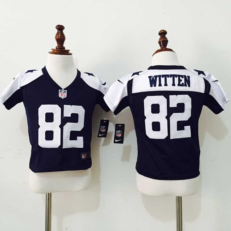 Dallas Cowboys 82 Witten Blue Thankgivings Nike baby Jersey