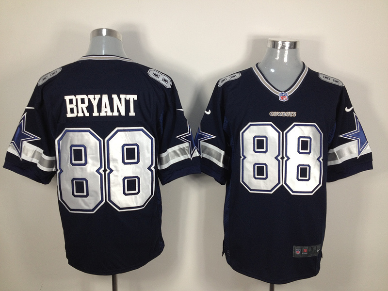 Dallas Cowboys 88 Bryant Blue Nike Game Jersey