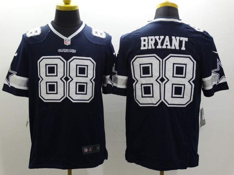 Dallas Cowboys 88 Bryant Blue Nike Limited Jerseys