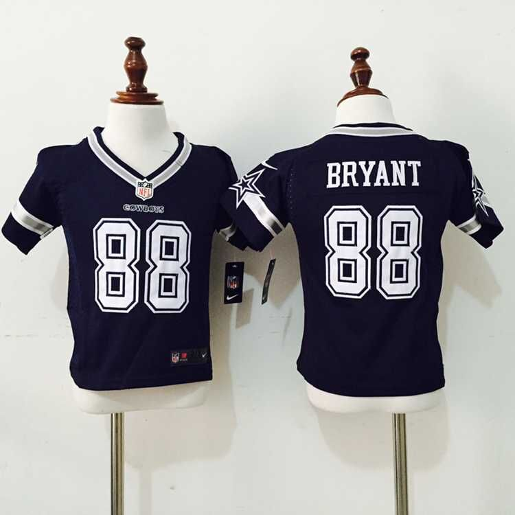 Dallas Cowboys 88 Bryant Blue Nike baby Jersey