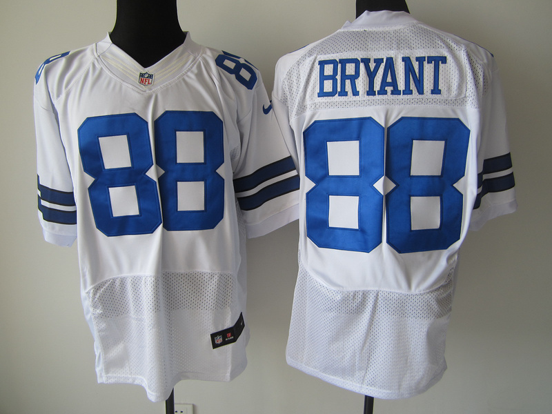 Dallas Cowboys 88 Bryant White Nike Elite Jersey