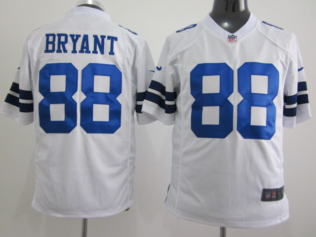 Dallas Cowboys 88 Dez Bryant White 2015 Nike Game Jerseys