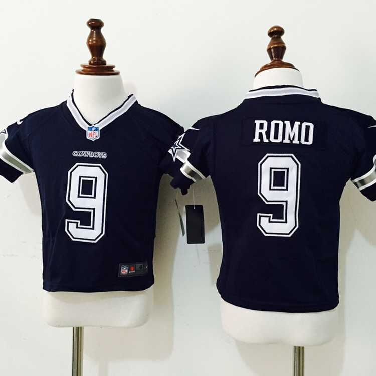 Dallas Cowboys 9 Romo Blue Nike baby Jersey