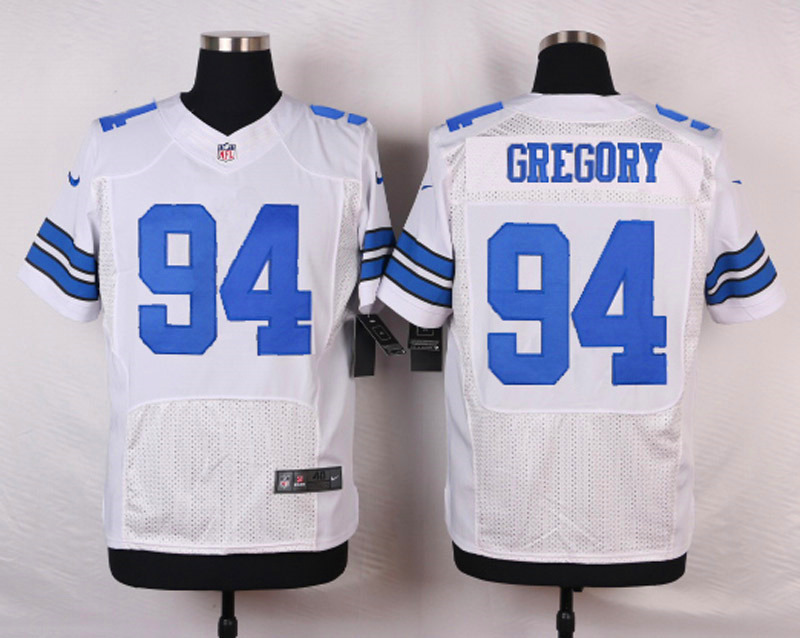 NFL Customize Dallas Cowboys 94 Gregory White Men Nike Elite Jerseys