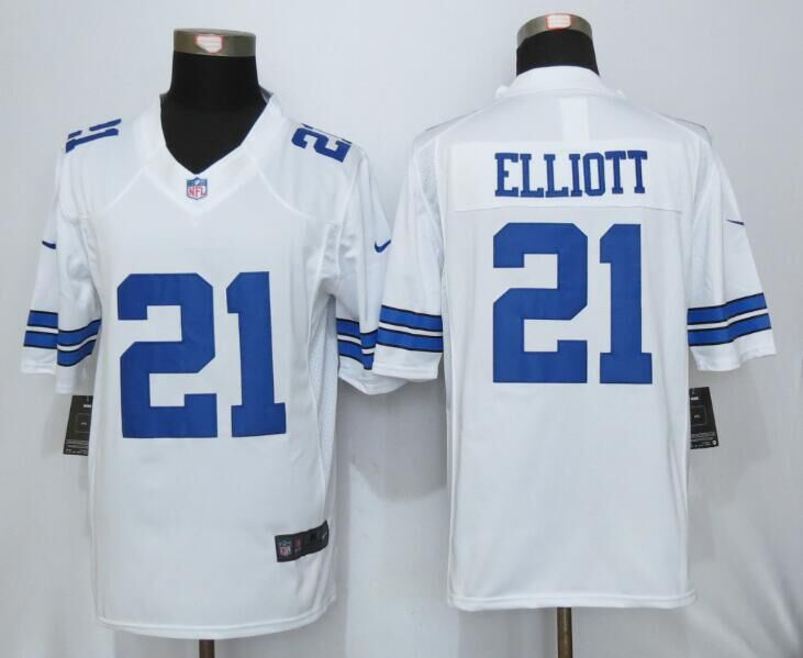 Dallas cowboys 21 Elliott White 2016 Nike Limited Jersey