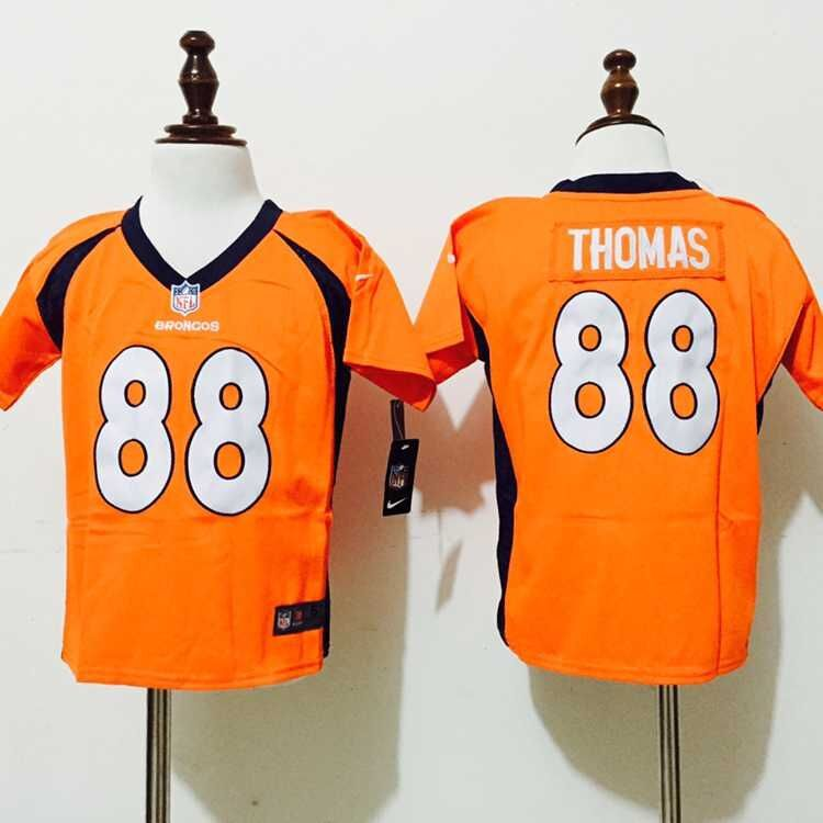Denver Broncos 88 Thomas Orange Nike baby Jerseys