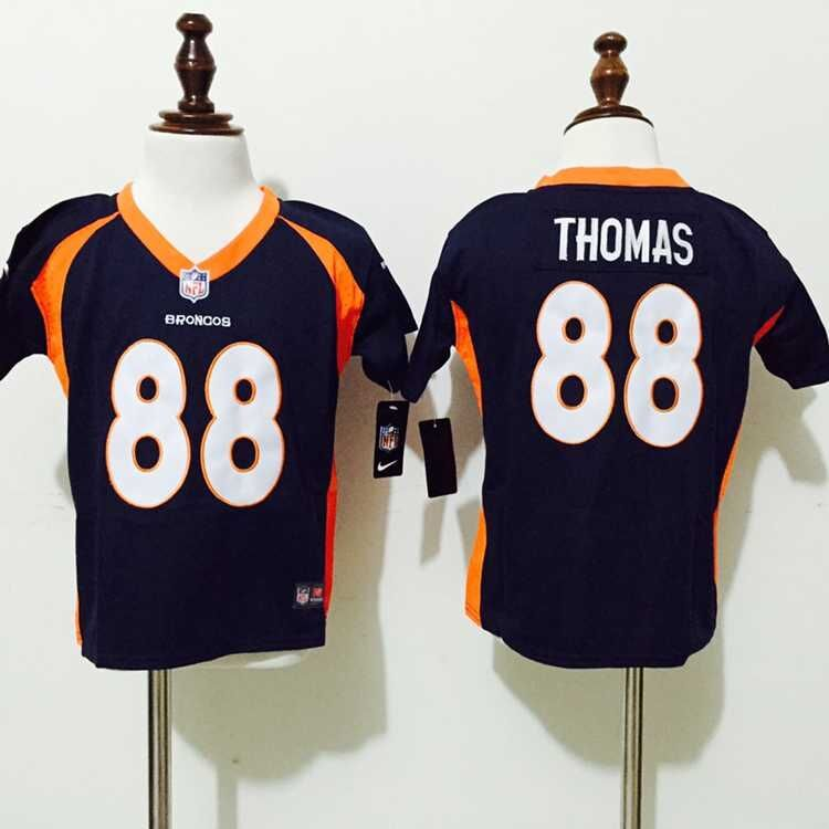 Denver Broncos 88 Thomas blue Nike baby Jerseys
