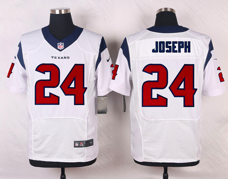 NFL Customize Houston Texans 24 Joseph White 2015 Elite Nike Jersey