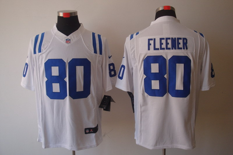 Indianapolis Colts 80 Fleener White Nike Limited Jerseys