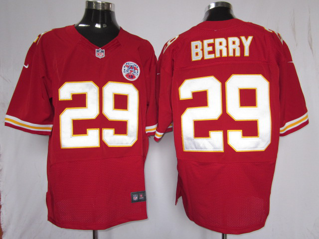 Kansas City Chiefs 29 Berry Red Nike Elite Jersey