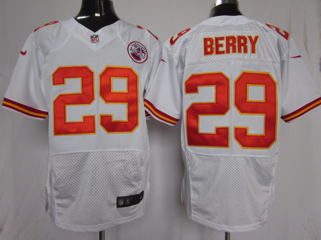 Kansas City Chiefs 29 Berry White Nike Elite Jersey