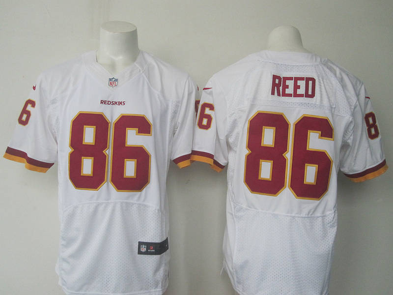 NFL Washington Redskins 86 Reed white Nike 2016 jerseys