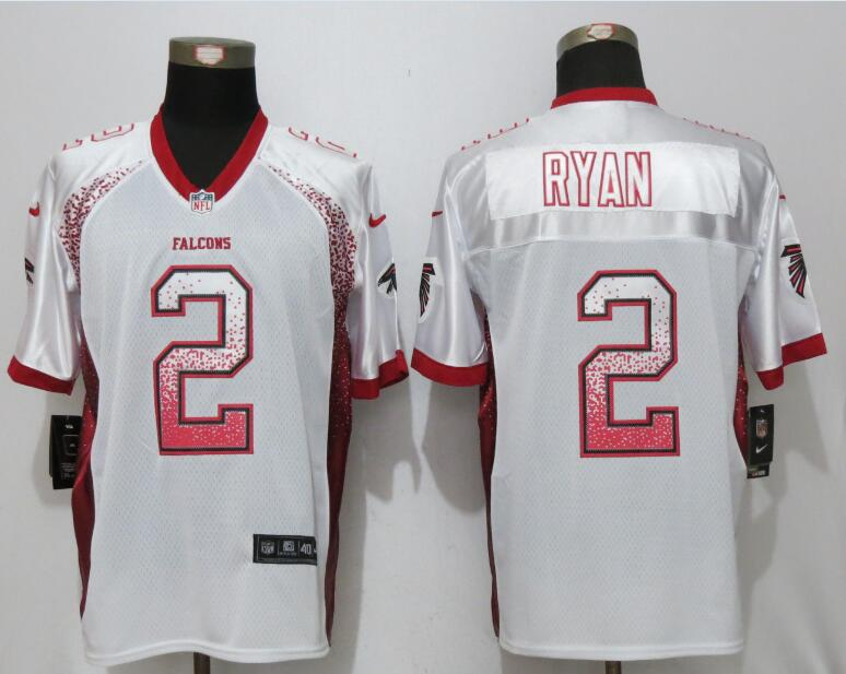 New Nike Atlanta Falcons 2 Ryan Drift Fashion White Elite Jerseys
