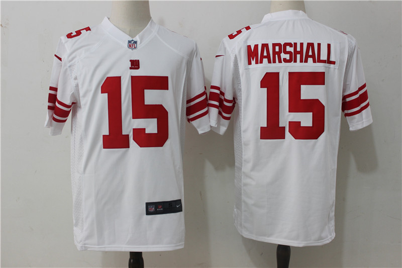 New York Giants 15 Marshall White Game 2017 Nike Jerseys