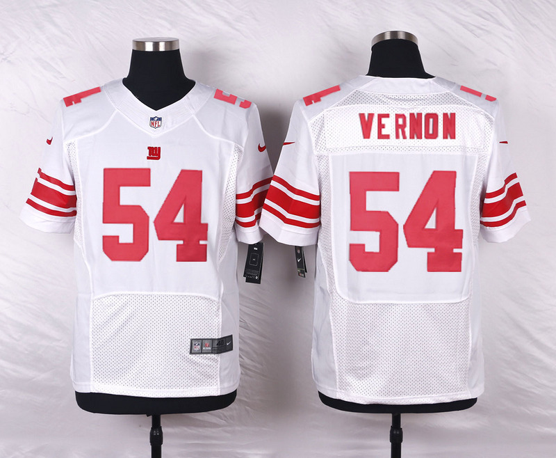 New York Giants 54 Vernon White 2016 Nike Elite Jerseys