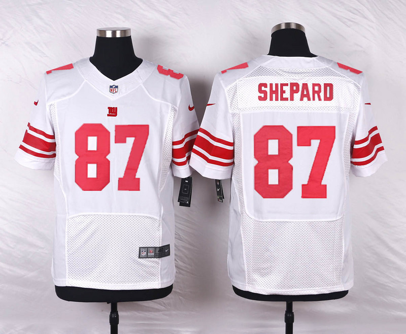 New York Giants 87 Shepard White 2016 Nike Elite Jerseys