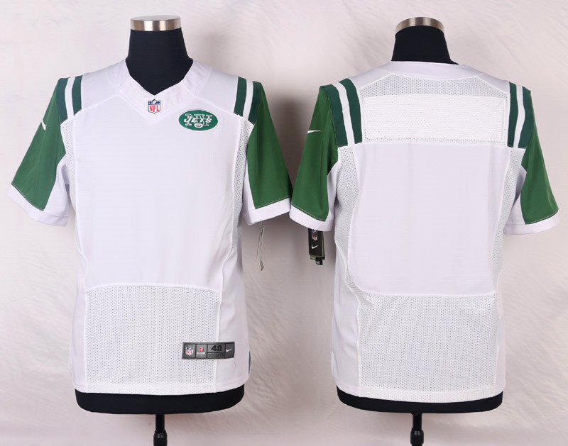NFL Customize New York Jets blank White 2015 Elite nike jerseys