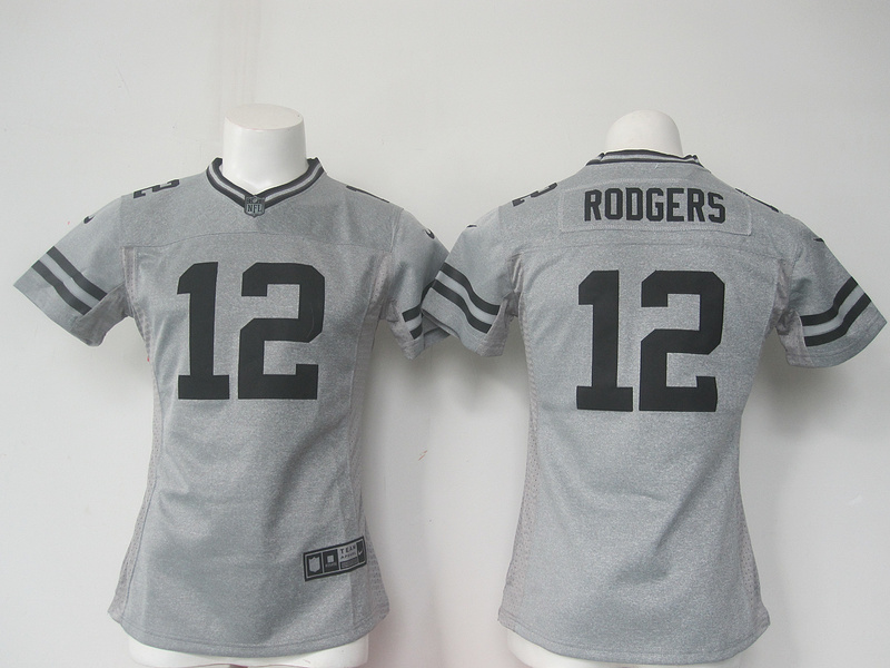 Nike NFL Green Bay Packers 12 Aaron Rodgers Women 2016 Jerseys