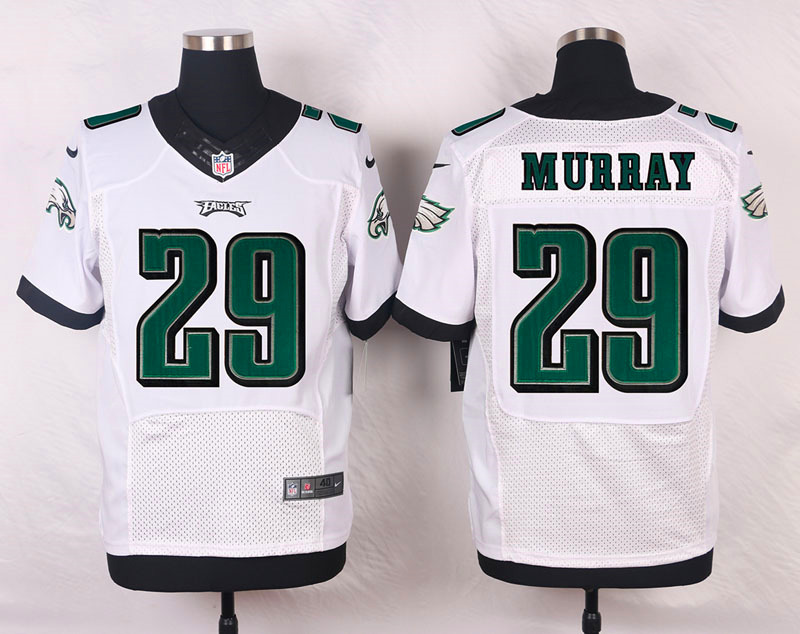 NFL Customize Philadelphia Eagles 29 murray white Men Nike Elite Jerseys