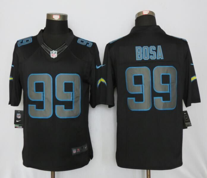 San Diego Charger 99 Bosa Impact Limited Black New Nike Jerseys