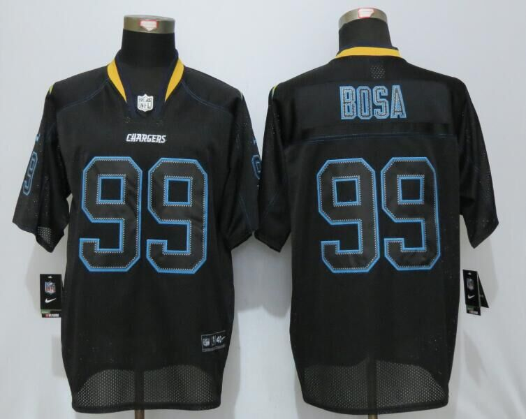 San Diego Charger 99 Bosa Lights Out Black New Nike Elite Jerseys