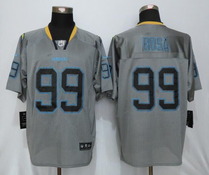 San Diego Charger 99 Bosa Lights Out Gray New Nike Elite Jerseys