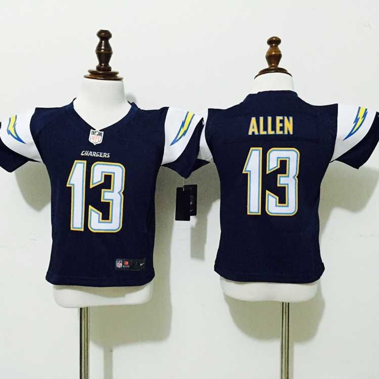 Los Angeles Chargers 13 Allen Blue Nike baby Jersey