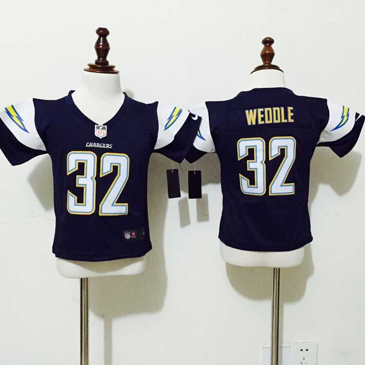 San Diego Chargers 32 Weddle Blue Nike baby Jersey