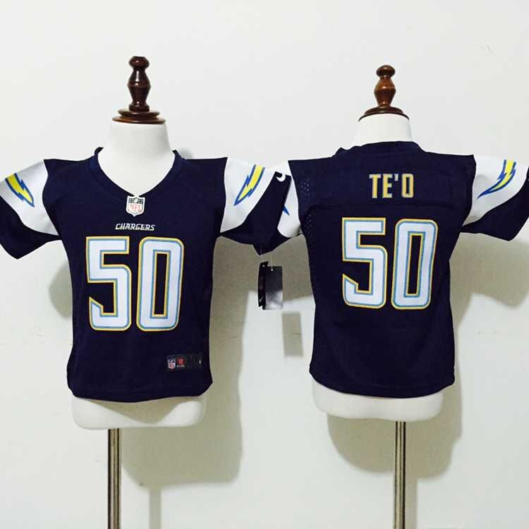 San Diego Chargers 50 TE'O Blue Nike baby Jersey
