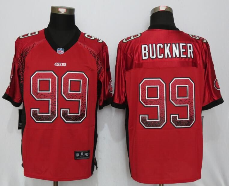 San Francisco 49ers 99 Buckner Drift Fashion Red NEW Nike Elite Jerseys