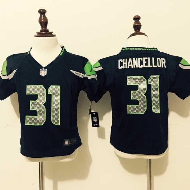 Seattle Seahawks 31 Chancellor Blue Nike baby Jersey