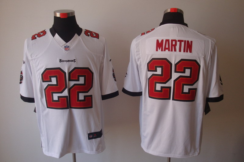 Tampa Bay Buccaneers 22 Martin White Nike Limited Jerseys.