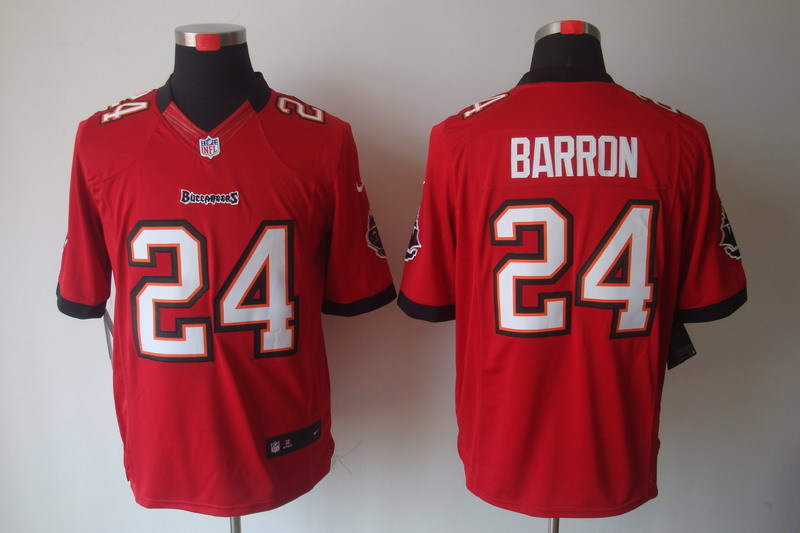 Tampa Bay Buccaneers 24 Barron Red Nike Limited Jerseys