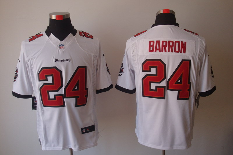 Tampa Bay Buccaneers 24 Barron White Nike Limited Jerseys