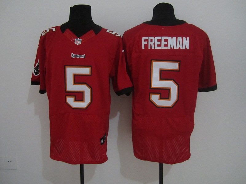 Tampa Bay Buccaneers 5 Freeman Red Nike Elite Jersey