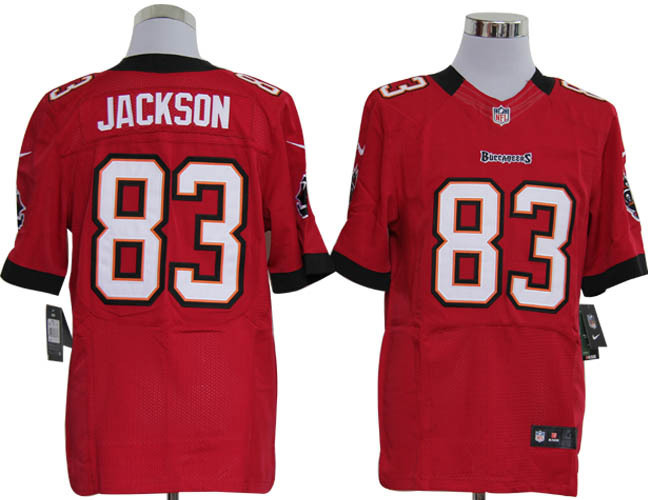 Tampa Bay Buccaneers 83 Jackson Red Nike Elite Jerseys