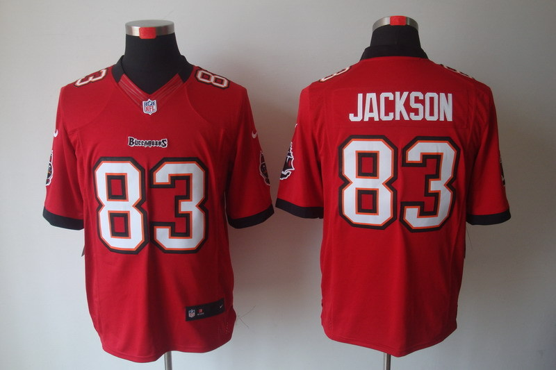 Tampa Bay Buccaneers 83 Jackson Red Nike Limited Jerseys