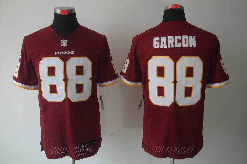 Washington Redskins 88 Garcon Red Nike Elite Jerseys