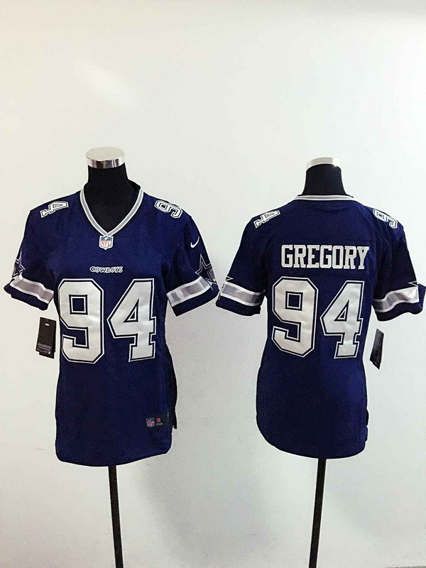 Womens Dallas Cowboys 94 Gregory Blue 2015 Nike Jerseys