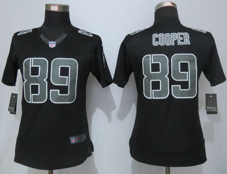 Womens Oakland Raiders 89 Cooper Impact Limited Black New Nike Jerseys