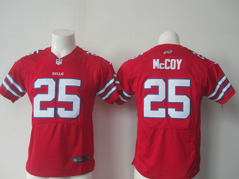Youth Buffalo Bills 25 LeSean McCoy Red Nike Jerseys