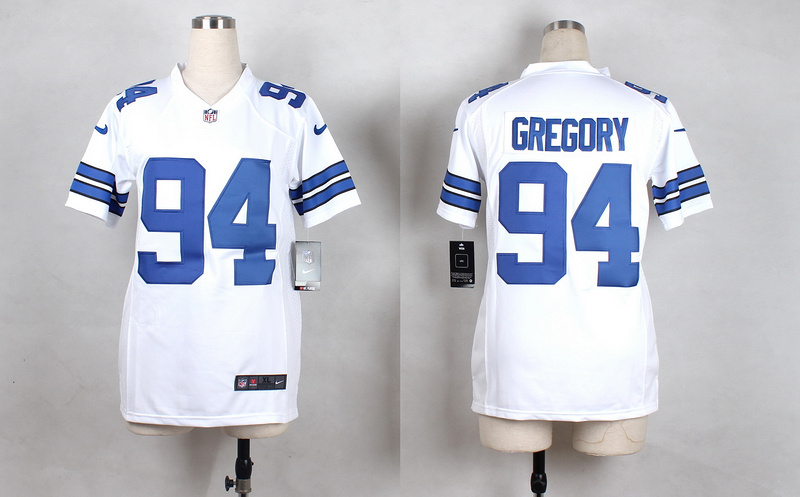 Youth Dallas Cowboys 94 Gregory White 2015 Nike Jerseys