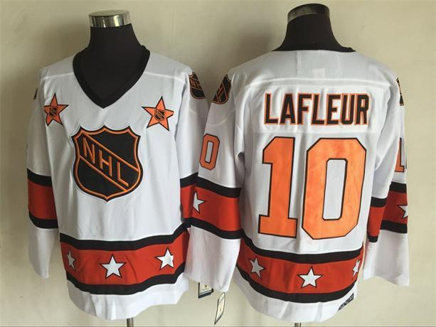 2016 NHL All Star 10 Lafleur White Throwback Jerseys