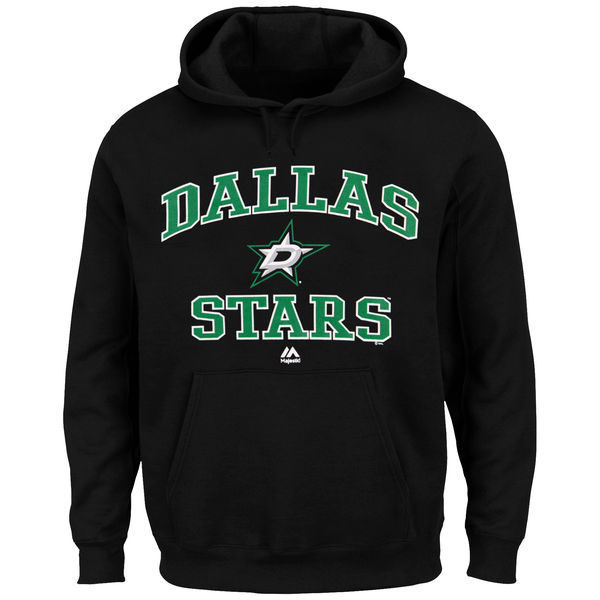 2016 NHL Dallas Stars Majestic Heart & Soul Hoodie - Black