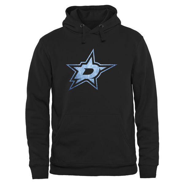 2016 NHL Dallas Stars Rinkside Pond Hockey Pullover Hoodie - Black