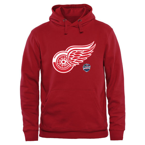 2016 NHL Detroit Red Wings 2016 Stadium Series Pullover Hoodie - Red